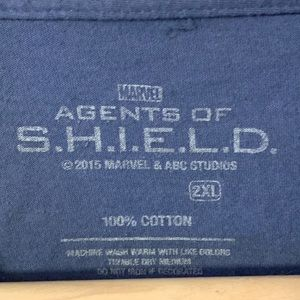Marvel Shirts - Marvel NYCC exclusive SHIELD Academy T-Shirt, XXL